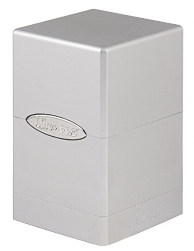 (Ultra Pro Deck Box Satin Tower: Metallic Silver)
