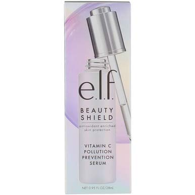 e.l.f. Beauty Shield Vitamin C Face Pollution Protecting Serum, 0.95 fl. oz.
