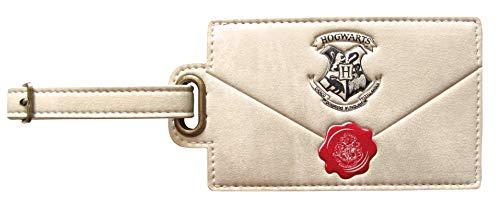 Harry Potter Letter to Hogwarts Envelope Design Embossed Luggage Tag