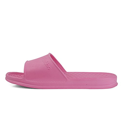 Slip House Shower Shoes Ultralight Women EQUICK Men Sandal for Bath Indoor Pink and Home Anti Slipper 8qWaOUYaz