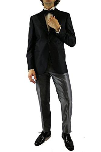 MAESTRAMI - Costume - Homme nero / grigio