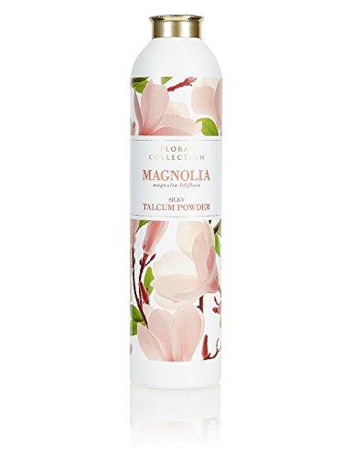 MARKS & SPENCER Magnolia Talcum Powder 200 g. (5 Pack) by Marks & Spencer