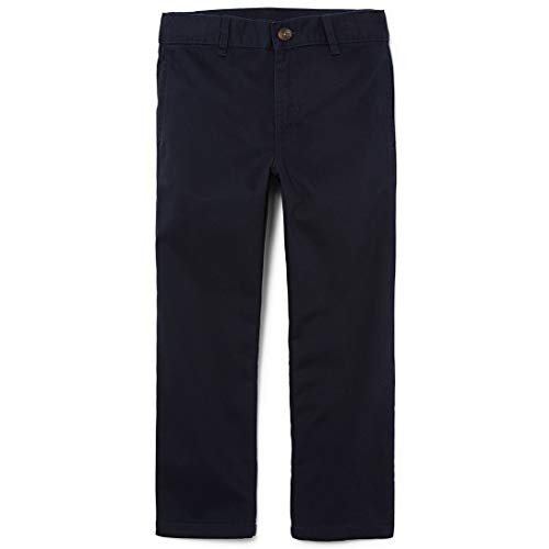 The Children's Place Boys' Uniform Chino Pants, New Navy, 10 Slim ()