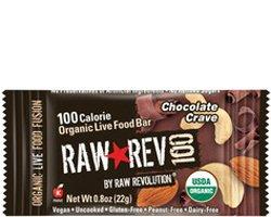 Raw Revolution Raw Rev 100 Bar Chocolate Crave 20/0.8oz (...
