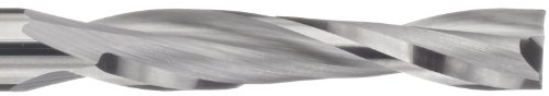 variant image of LMT Onsrud 52-724 Solid Carbide Upcut Spiral O Flute Cutting Tool, Inch, Uncoated (Bright) Finish, 22 Degree Helix, 2 Flutes, 5.0000
