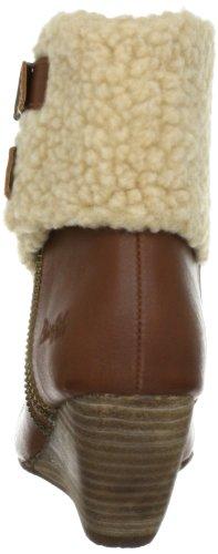 Blowfish Byner Wedges Bootie BF2408 AU12 - Botines fashion para mujer Marrón (cognac austin PU BF232)