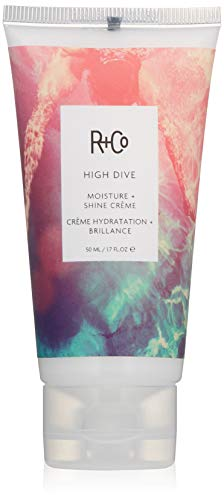 R+Co High Dive Moisture Plus Shine Crème for deep hydration + moisture, Creamy White 1.7 Oz, 1 Pack - Diva Care Hair
