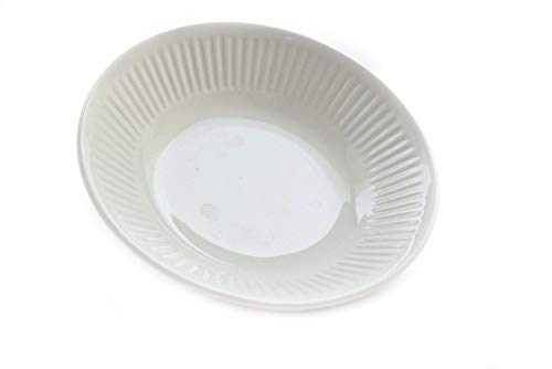 Johnson Brothers Ironstone Athena White Ribbed 5.25