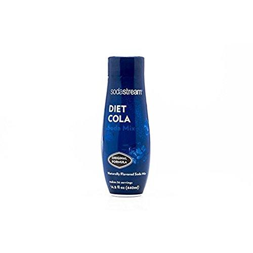 Sodastream 440ML Flavor Syrups (pack of 2 440ml Bottles) (Diet Cola)