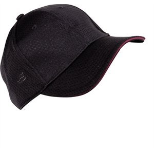 Colour by Chef Works Cool Vent Baseball Cap - Merlot One Size. Colour: Merlot. by