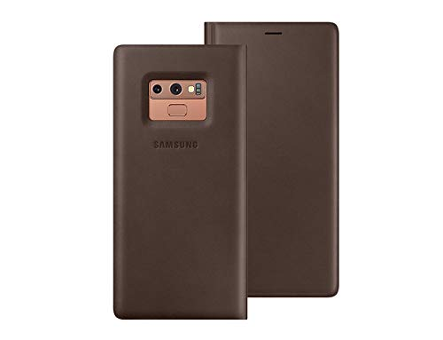 03d40ef3e Samsung Galaxy Note9 Leather Wallet Cover Case EF-WN960LAEGKR Brown