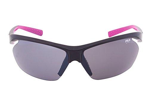 Fila Sport FAC5024 001 Wrap Sunglasses, - Sunglass Fila