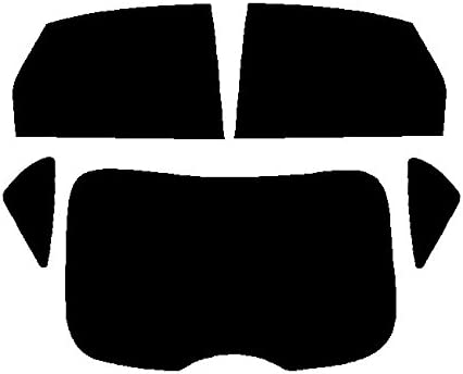 fits for Ford Focus 5-door Hatchback 35/% Light Smoke Front windows Pre cut window tint 2005 to 2010