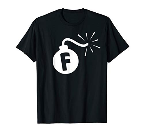 - F-Bomb - Censored Curse Word Drop Humorous Mens & Womens  T-Shirt