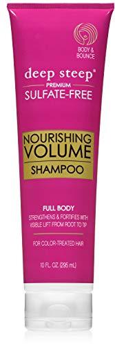 Deep Steep Shampoo Nourishing Volume, 10 Ounce