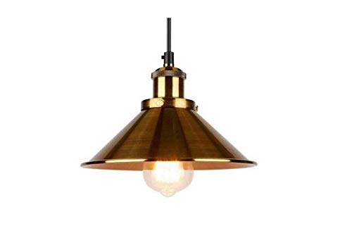 Attic Chandeliers Lichtvintage Light Dining-Room Restaurant Hanglamp Iron Suspension Luminaire Black/Gold E27