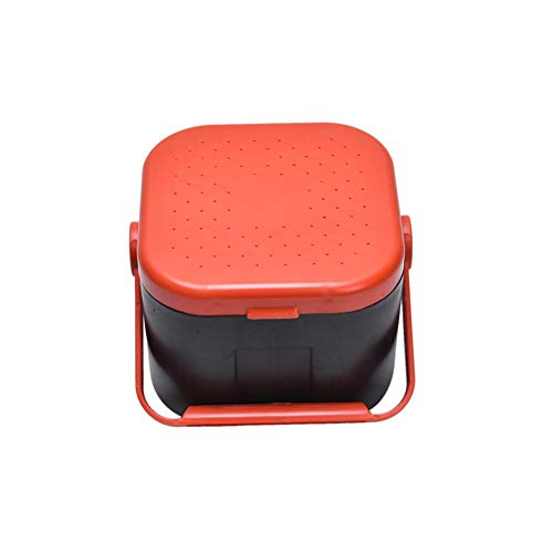 Comsnows 2PCS Worm Bait Holder, Bait Storage Box, Fishing-Accessories Boxes Storage Containers