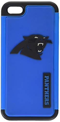 Forever Collectibles - (NFL) Carolina Panthers - Dual Hybrid 2-Piece TPU Case for Apple iPhone 5/5s