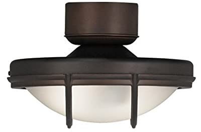 Wet Location Oil Rubbed Bronze Ceiling Fan Light Kit