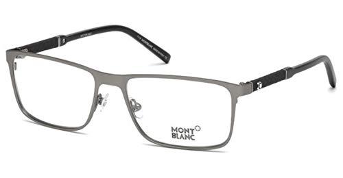 MONTBLANC Eyeglasses MB0674 013 Matte Dark - Blanc Eyeglasses Mont Mens