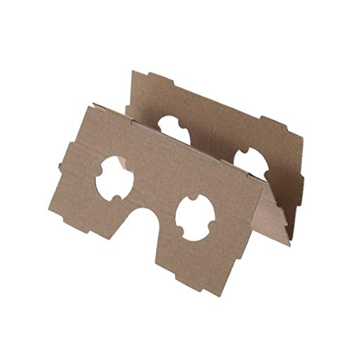 Liobaba DIY Cardboard 3D VR Virtual Reality Glasses for Smartphone DIY Magnet Google Cardboards Glasses by Liobaba (Image #3)