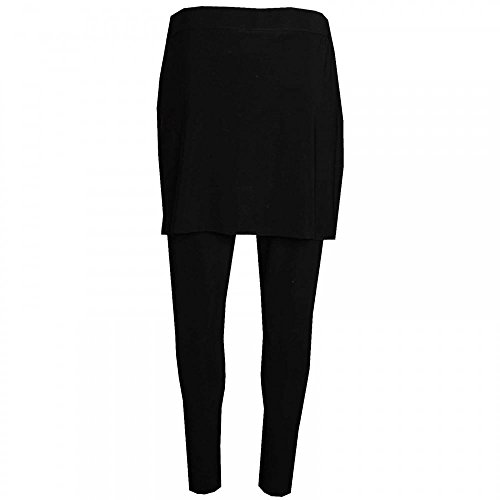 With Lyman Frank Skirt Leggings Pull On Black Attached TCBfHq