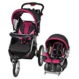 Baby Trend Expedition GLX Travel System with EZ Flex-Loc fixed-back infant car seat - SODA POP