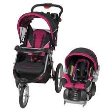 Baby Trend Expedition GLX Travel System With EZ Flex Loc Fixed Back Infant Car