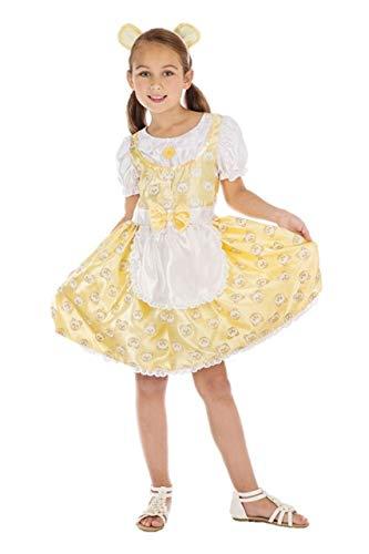Bristol Novelty Girls Goldilocks Costume Size Small ()