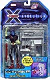 X-Men Evolution Nightcrawler with Mutant Gymcisor
