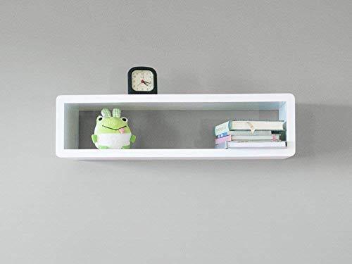 reputable site 9c919 f8623 Amazon.com: Modern Slim Floating Shelf, Wall Mount Cube ...