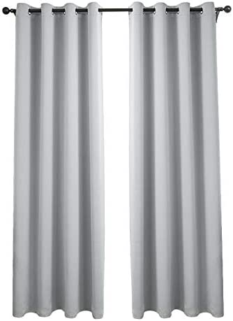HIGHFLY Blackout Curtains Room Darkening Thermal Insulated Blackout Grommet Window Curtain