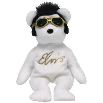 b0cf799b3cb Amazon.com  TY Beanie Baby - VIVA LAS BEANIES the Elvis Bear  Toys ...