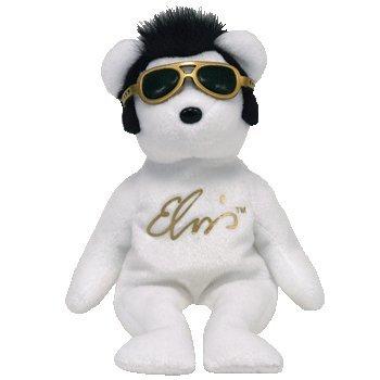 - TY Beanie Baby - VIVA LAS BEANIES the Elvis Bear