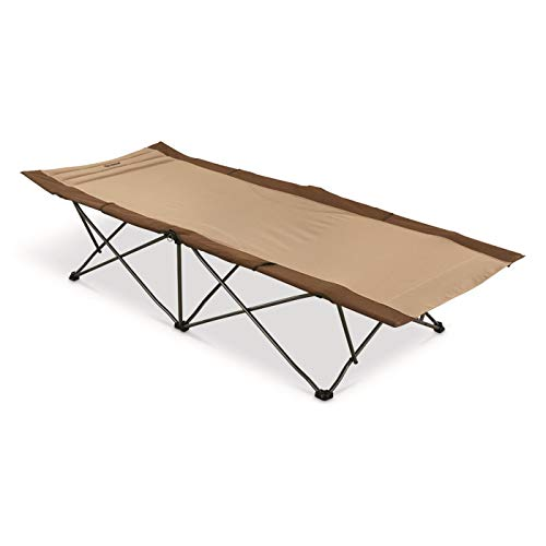Guide Gear Rapid Set Camp Cot, 300-lb. Capacity, Tan/Brown