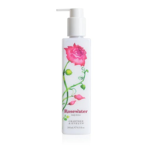 Crabtree & Evelyn Body Lotion, Rosewater, 8.3 fl. oz.