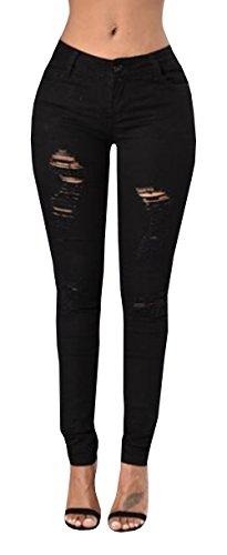 Black Trouser Jeans - 8