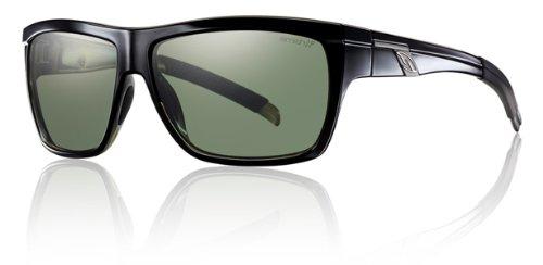 Smith Mastermind Sunglasses - Polarized Chromapop Black/Gray Green, One Size