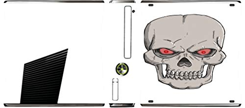 Undead Lord Skull Red Eyes Art Image Xbox 360 Slim (2010) Vinyl Decal Sticker Skin by Trendy Accessories