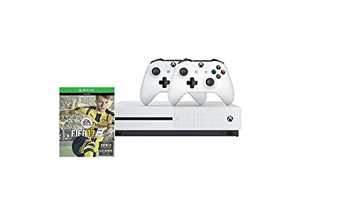 Xbox One S 1TB Konsole - Bundle inkl. FIFA 17 + 2. Controller