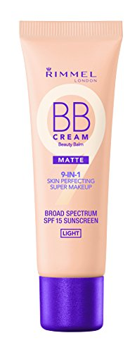 Rimmel Match Perfection BB Cream Foundation Matte, Light, 1 Fluid Ounce