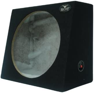 Absolute USA SAG10 Heavy Duty Sealed Back-Angle Single 10-Inch Subwoofer Enclosure Box