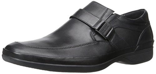 Kenneth Cole Reaktion Mens Stolt Gäng Slip-on Loafer Svart