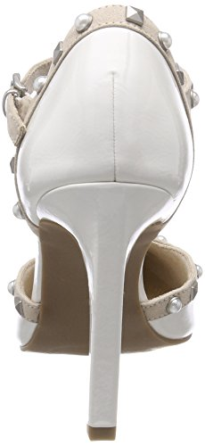 Marco Femme Tozzi white Pat 24412 Blanc Escarpins comb H8Zrtw87qx