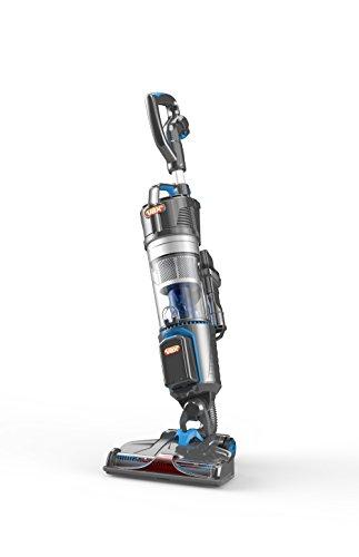 Vax U86-AL-B-E Air Cordless (2x 20 V LI-Ionen Akkus, bis zu 50 Minuten volle Leistung, 1,05l Staubbehältervolumen, Motorbetriebene Bodendüse), grau - blau