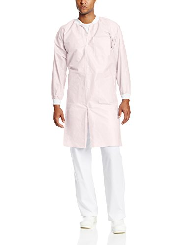 ValuMax Extra-safe Knee Length Lab Coat Pink M