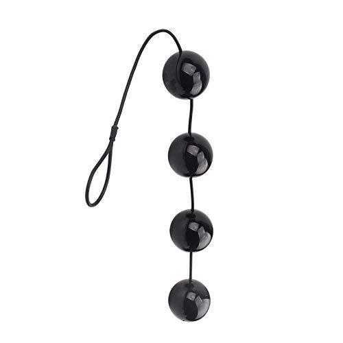 Super Big 6cm Black Anales Plu-gs Anales Beads Sti-mùlátors X-Large Ana Balls Flirting B-úllét