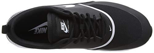 white Thea Nike Max Scarpe Nero Derby Air black 028 Donna Stringate ZzxzBw