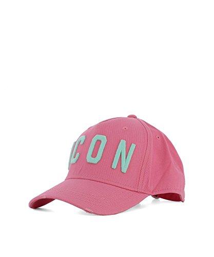 DSQUARED2 Men's Bcm400105c00001m1387 Pink Cotton Hat by DSQUARED2