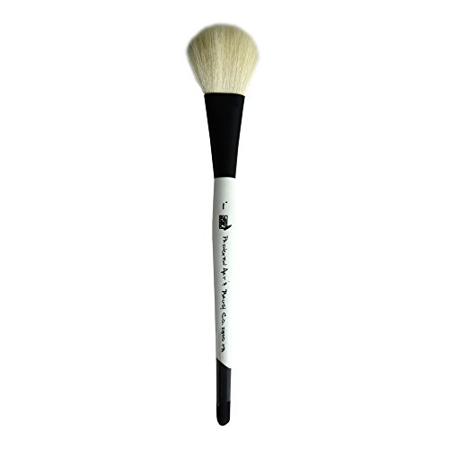 Princeton Good Mop, Brushes for Watercolor Series 2850, Natural Goat Hair Bristle, Filbert Size 1 (Hair Round Wash Brush)